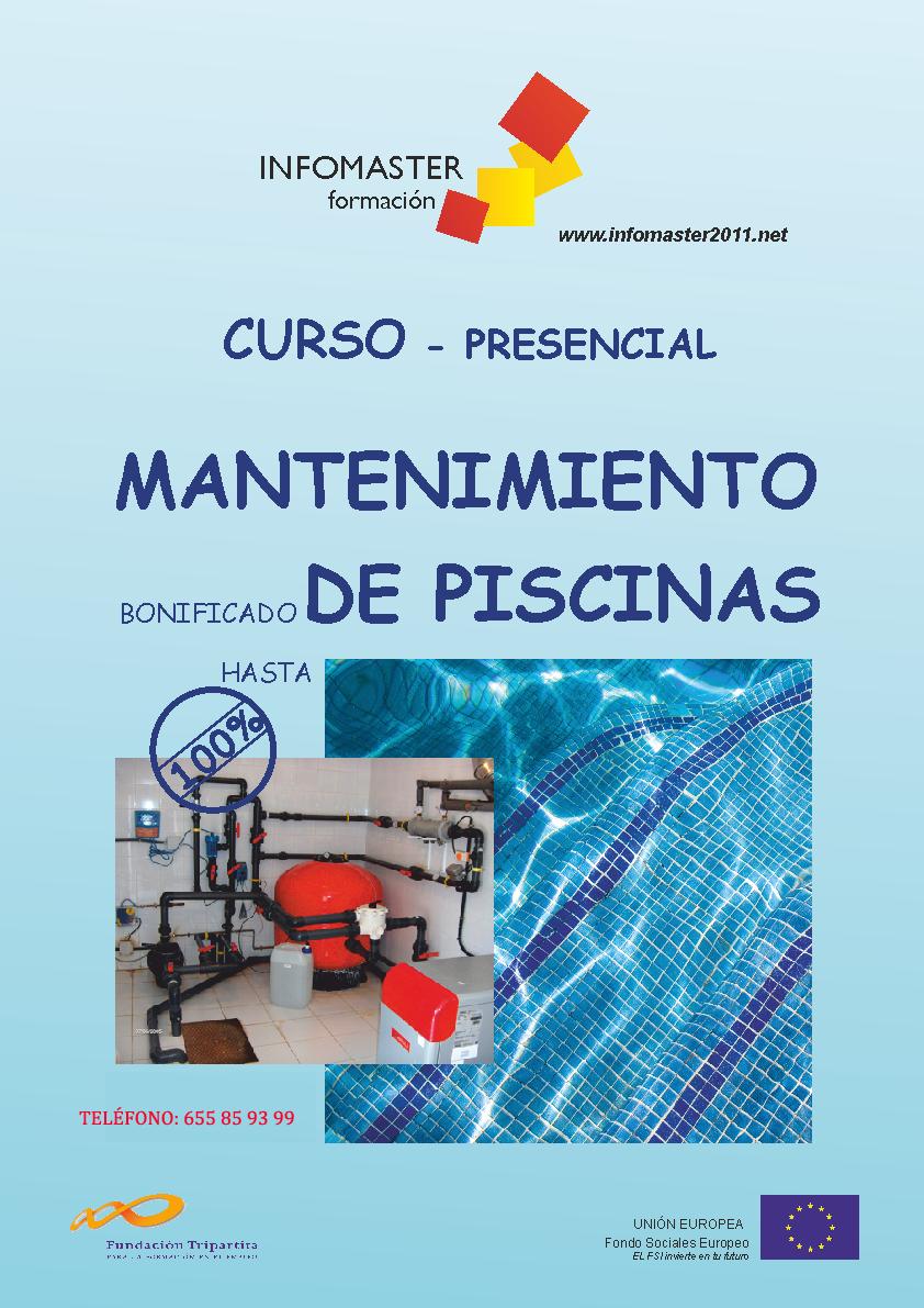 Cursos plaguicidas biocidas cualificado malaga for Curso mantenimiento piscinas
